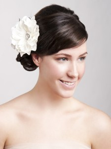 Hair extensions can add length to your hair on your wedding day