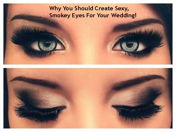 How To Create Sexy, Smokey Eyes For Your Wedding