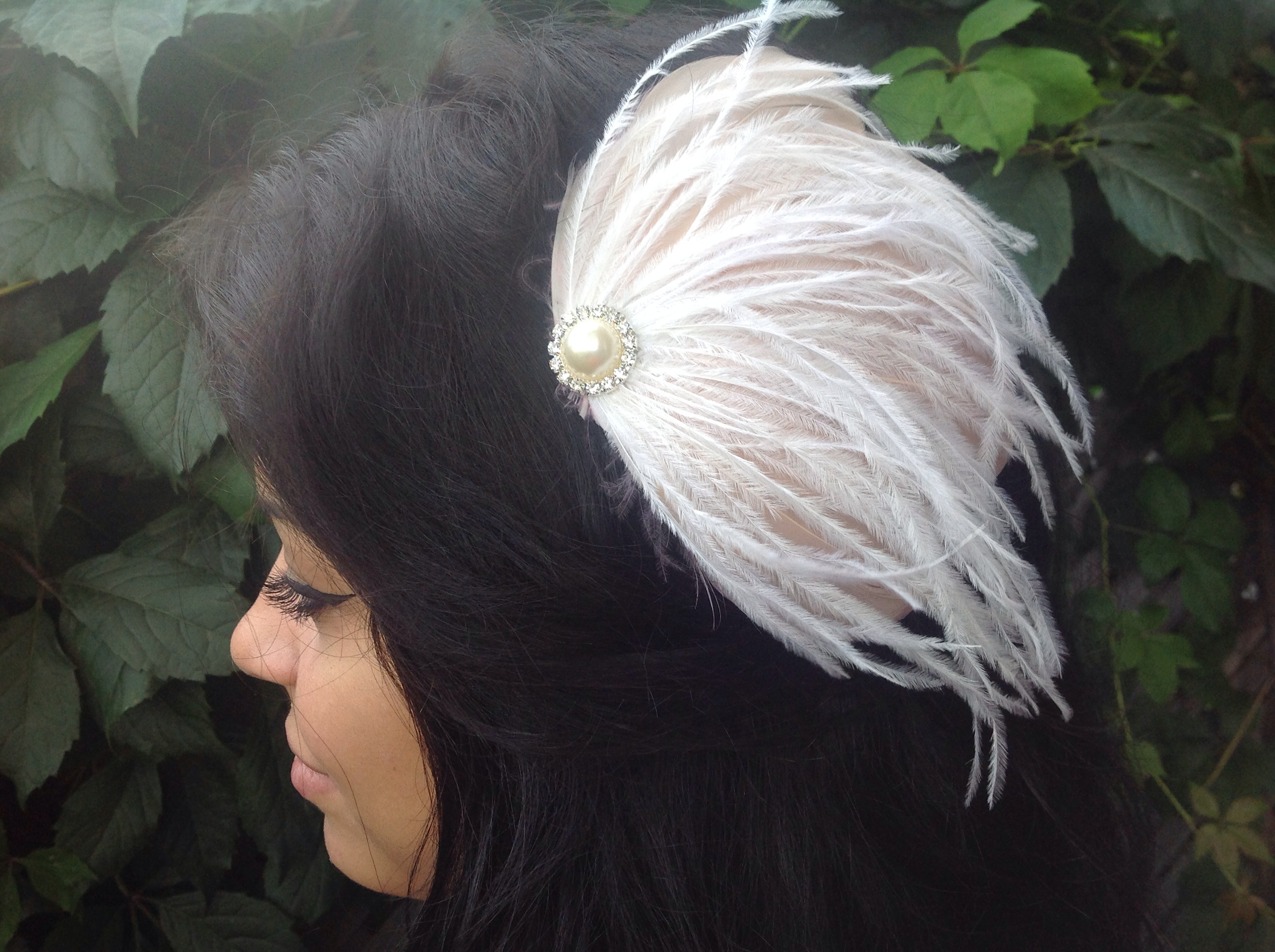 Wedding Feather Fascinator's